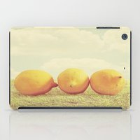 Lemongrass iPad Case