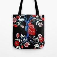 Romantic Anatomy Tote Bag