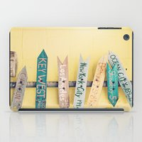 Going Places iPad Case