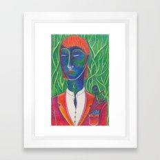 Dandy Krishna Framed Art Print