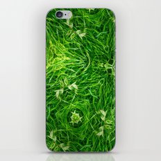 The Mystery Of The Grass iPhone & iPod Skin