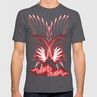Red Phoenix Mens Fitted Tee Asphalt SMALL