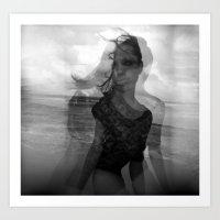 Eye Sea Art Print