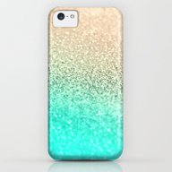 GOLD AQUA iPhone 5c Slim Case