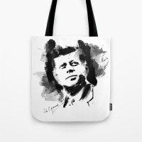 John F. Kennedy JFK Tote Bag