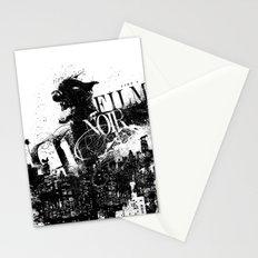 Like a Film Noir Stationery Cards
