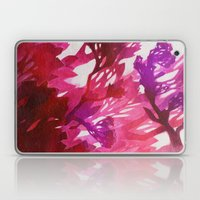 Morning Blossoms 2 - Magenta Variation Laptop & iPad Skin