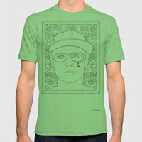 Autoportrait Mens Fitted Tee Grass SMALL