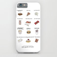 Foods of Parks and Rec iPhone 6 Slim Case