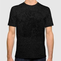 Double Rocket Punch!! Mens Fitted Tee Tri-Black SMALL