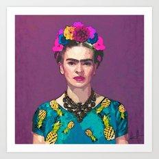 Trendy Frida Kahlo Art Print