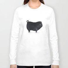 Pug Hannibal Long Sleeve T-shirt