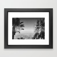 LOS ANGELES Framed Art Print