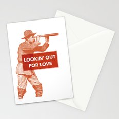 Looking out for love Stationery Cards