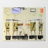 Domicile 02_Maple Syrup … Canvas Print