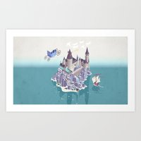 Hogwarts Series (year 4:… Art Print