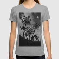 Shadow Womens Fitted Tee Athletic Grey SMALL