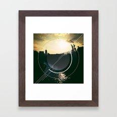 Urban River Framed Art Print
