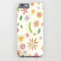 Colourful Daisies iPhone 6 Slim Case