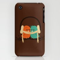 iPhone 3Gs & iPhone 3G Cases featuring Baby It's Cold Outside by Budi Kwan