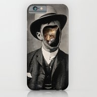 iPhone & iPod Case featuring Gentleman Fox by 38 Sunsets