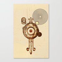 hypnotism Canvas Print