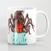 Spiders from Mars  Mug