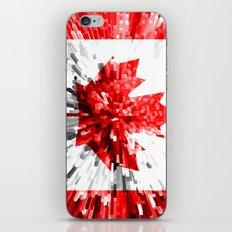 Canada Flag - Extrude iPhone & iPod Skin