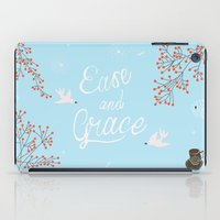 'Ease and Grace' iPad Case