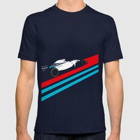 Fw36  Mens Fitted Tee Navy SMALL