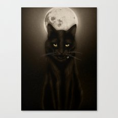 Salem after Dark Canvas Print