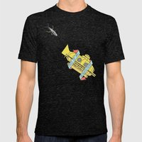 This Is An Adventure | The Life Aquatic with Steve Zissou Mens Fitted Tee Tri-Black SMALL