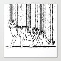 Inkcat5 Canvas Print