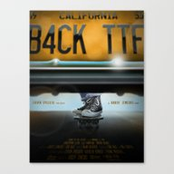 Back To The Future- All … Canvas Print