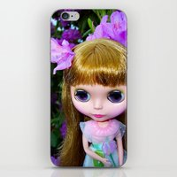 Floral Blythe iPhone & iPod Skin