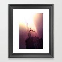 To The Sky! Framed Art Print