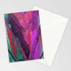 Purple Chevron Stationery Cards