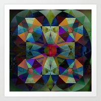 Instant Mandala Art Print
