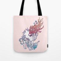 Spirit Animal - Wolf Tote Bag