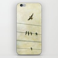 Spread My Wings And Fly iPhone & iPod Skin