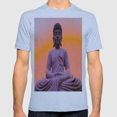 Sundown Buddha Mens Fitted Tee Athletic Blue SMALL