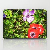 COLORED FLOWERS iPad Case