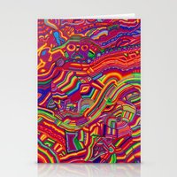 Shaping The Spectrum Stationery Cards