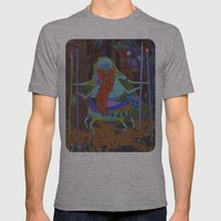 The Spider Wizard Mens Fitted Tee Athletic Grey SMALL