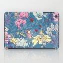 Garden party - lady gray version iPad Case