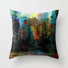 A moment in your city Throw Pillow