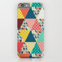 Llama Geo Triangles iPhone 6 Slim Case