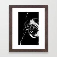 Advance Electronic Audio Framed Art Print