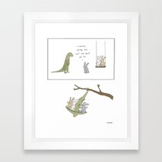 Swing  Framed Art Print
