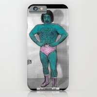 iPhone & iPod Case featuring The League Of Unfortunate Wrestlers - #1  ** El Brasero ** by Dave Bell